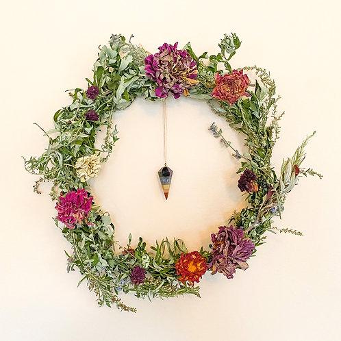 "10"" Third Eye Wreath # 1"