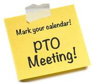 PTO Meeting - October 7 @ 7:30pm