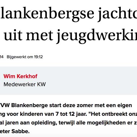 Sea & Cycling Camps staat in de krant van West-Vlaanderen!