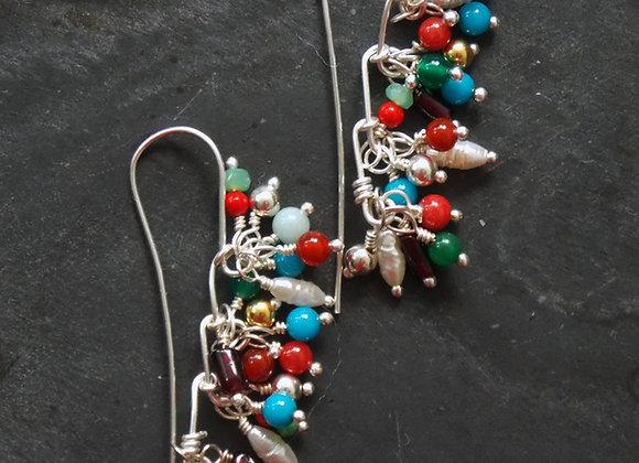 Bacchanalia Masai - Fleck Earrings