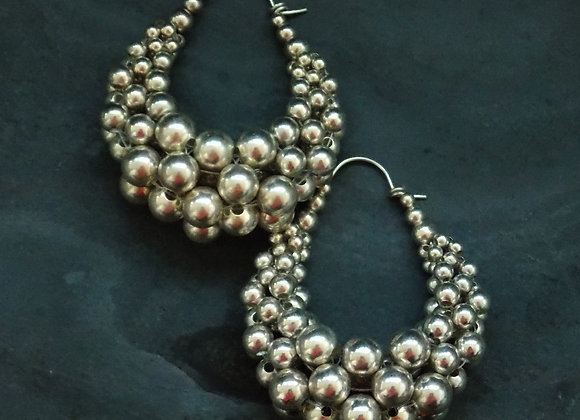 Bubble Basket Earrings - Medium