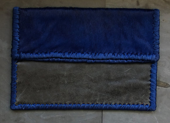 Bound Clutch - Royal Blue and Navy
