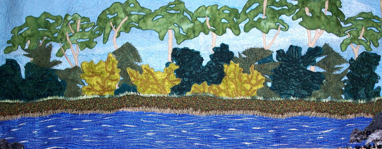 Island View; mixed media; 20x36.JPG