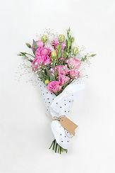 Pink Rose Kytice