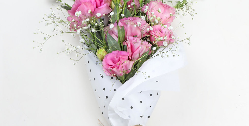 Pretty in pink lisianthus