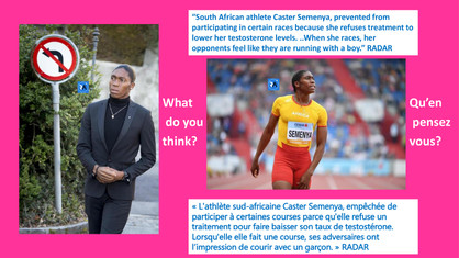 WHAT DO YOU THINK ABOUT SOUTH AFRICAN OLYMPIC GOLD MEDALIST #CASTERSEMENYA LAWSUIT?