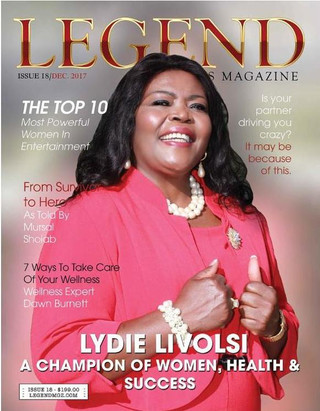 Lydie Livolsi, A Champion of Women, Health and Success