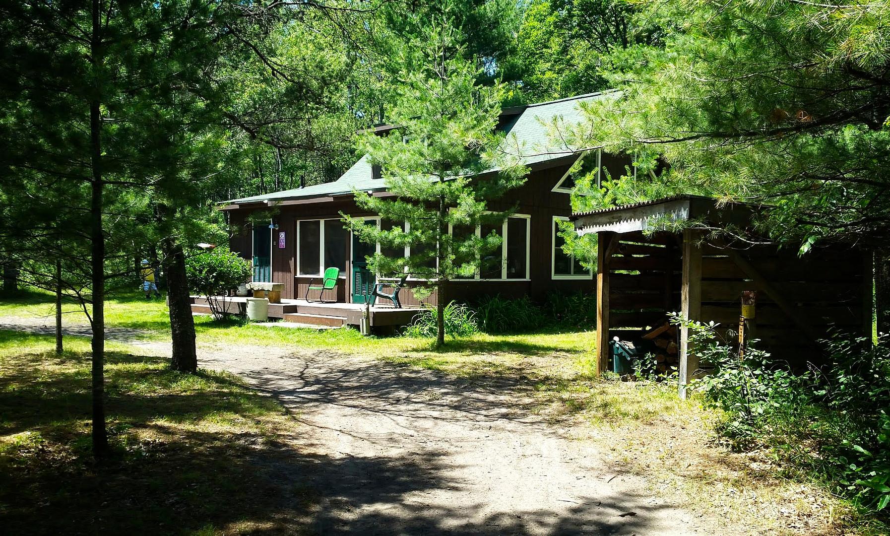 Cabin Driveway