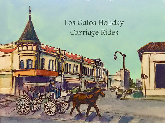 Los Gatos Holiday Card Package (4 Cards)