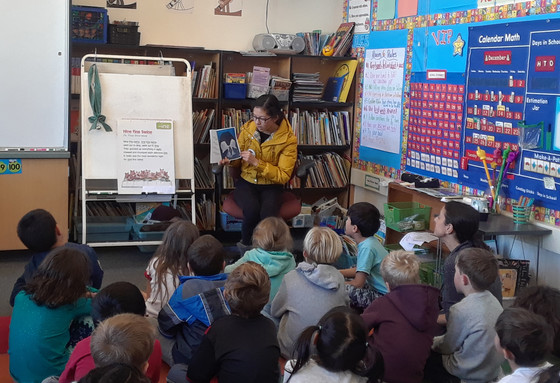 Kindergarten and 1st Grade Class Readings