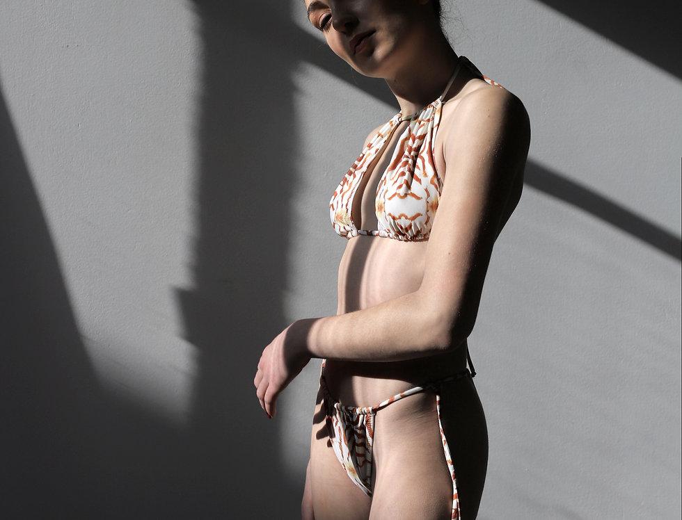 Coralia Bikini White