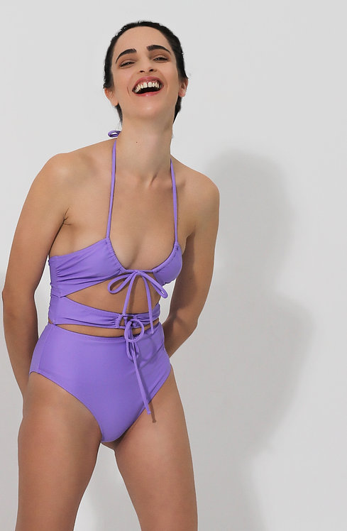 Sandro in Purple