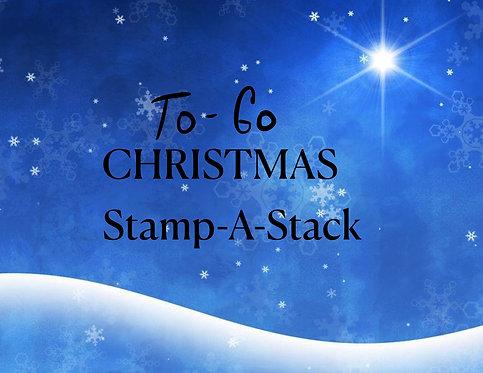 Stamp-A-Stack Christmas 2020