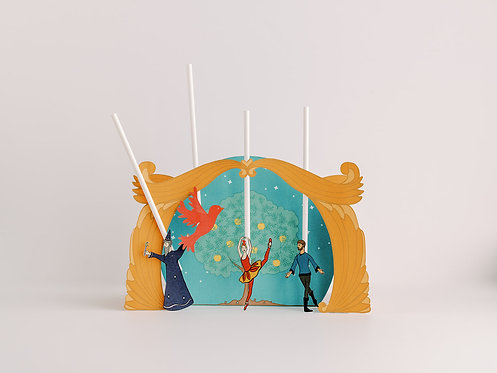Firebird Printable Puppet Theater