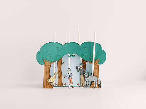 Peter and the Wolf Printable       Puppet Theater
