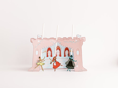 Sleeping Beauty Printable Puppet Theater