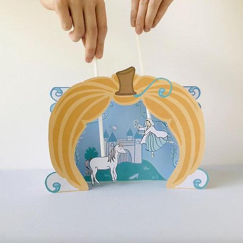 Cinderella Printable Puppet Theater