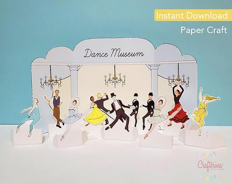 Dance Museum Printable Playtime Tableau