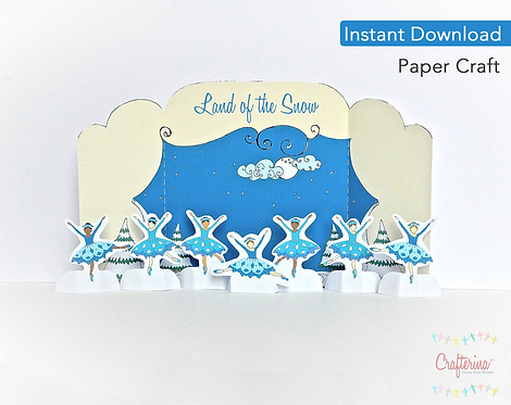 Land of the Snow Printable Playtime Tableau