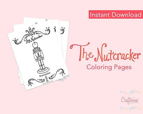 Nutcracker Coloring Pages