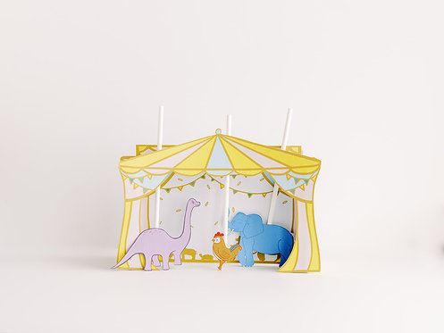 Carnival of the Animals Printable Puppet Theater