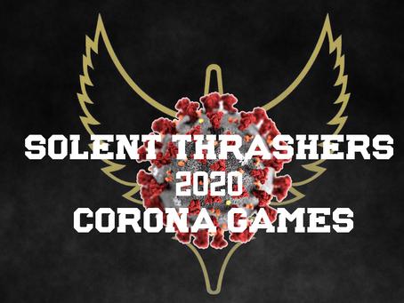 Solent Thrashers 2020 Corona Games