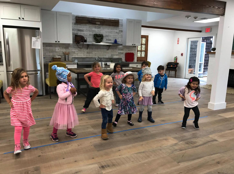 Dance warm-up