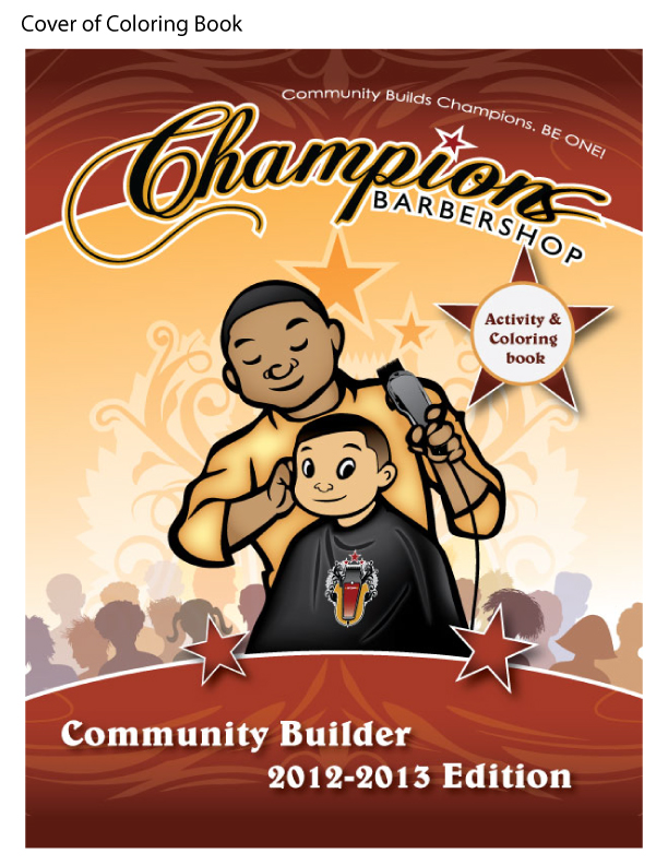 champions-coloring book