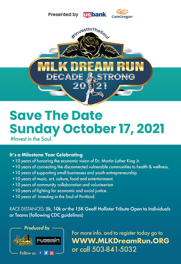 MLK Dream Run 2021