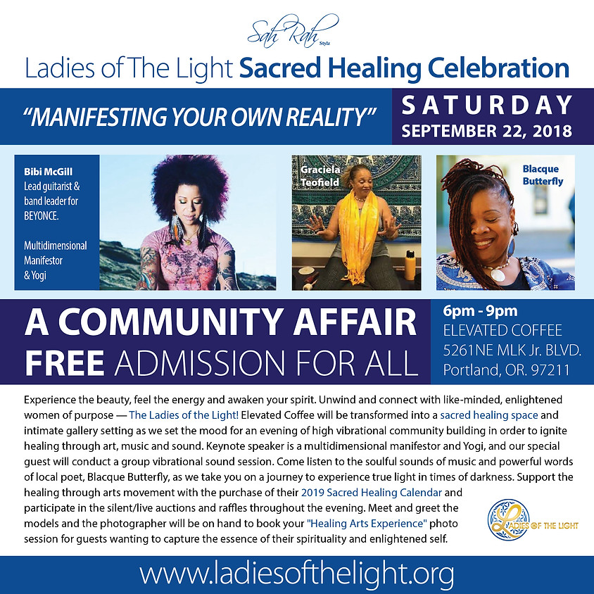 2018 Sacred Healing Celebration