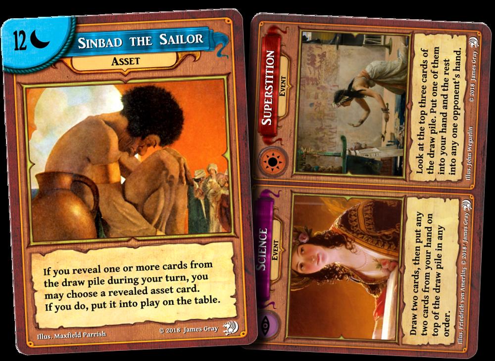 Shahrzad  Special Cards