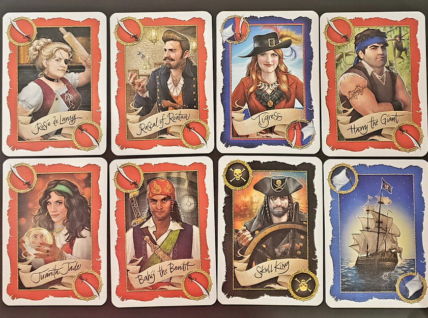 Pirates and Escape Cards