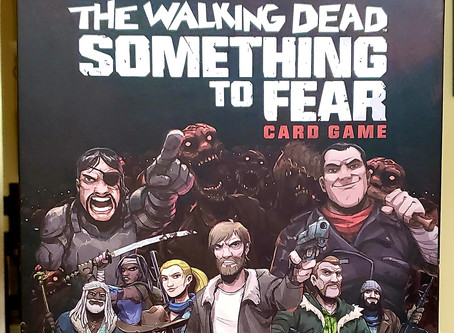 """""""And yet, I Smile"""" – King Ezekiel-  The Walking Dead Something to Fear Card Game"""