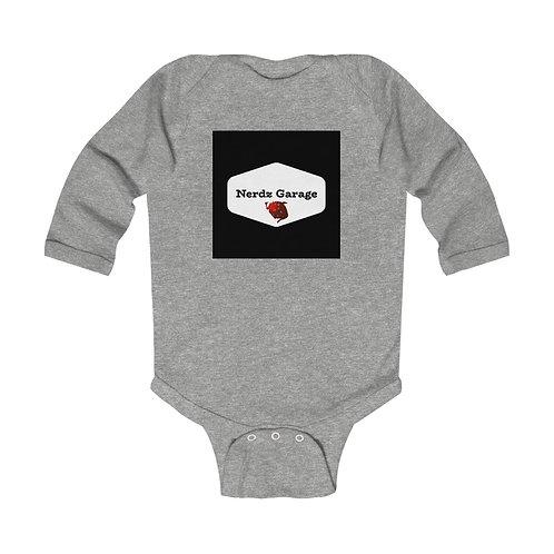 Lil Nerdz! Infant Long Sleeve Bodysuit