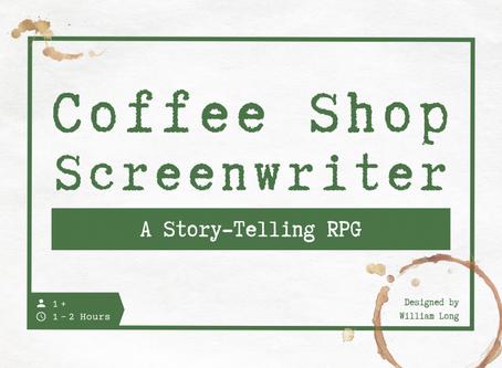 COFFEE SHOP SCREENWRITER -SCREENWRITING GAMIFIED