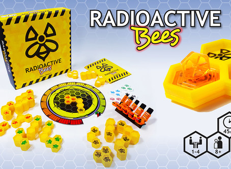 DELIGHTFUL BUZZ ABOUT RADIOACTIVE BEES