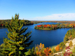 Au Sable River in the Fall