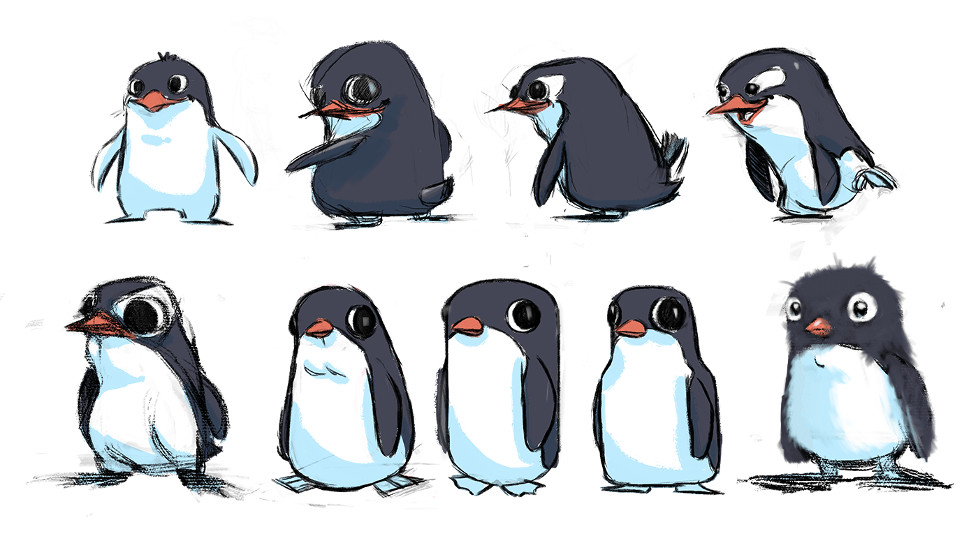 ilustrations penguins german merlo .png