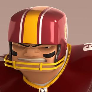 football player character design german
