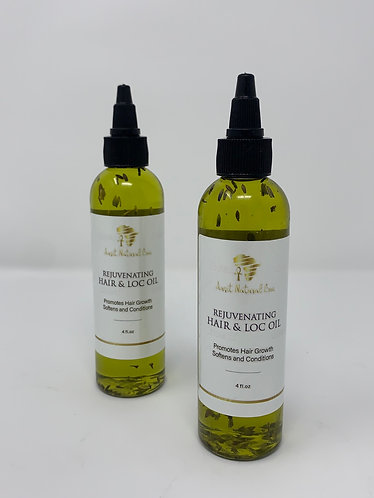 Rejuvenating Hair and Loc Oil (2oz.)