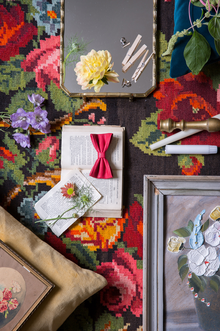 web.16.Textil, blomster konst