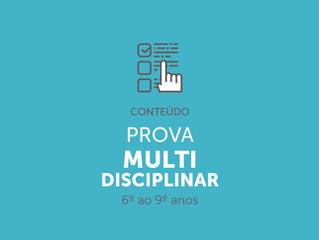 Prova MultiDisciplinar
