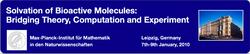 Solvation of Bioactive Molecules