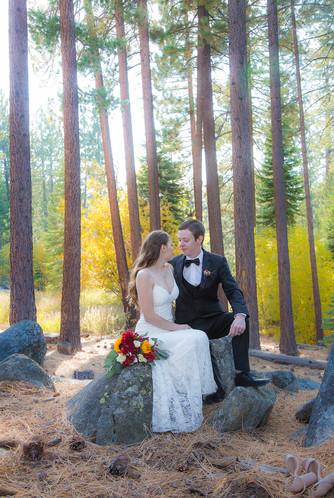 Fall colors in Lake Tahoe