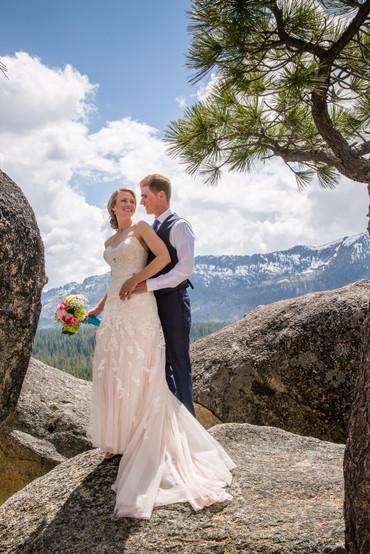 Mountain wedding Lake Tahoe