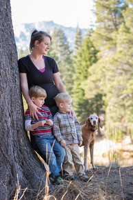 Scenic family photography, South Lake Tahoe