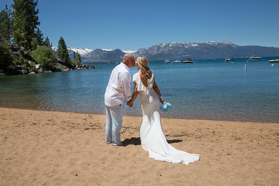Kiss at Lake Tahoe