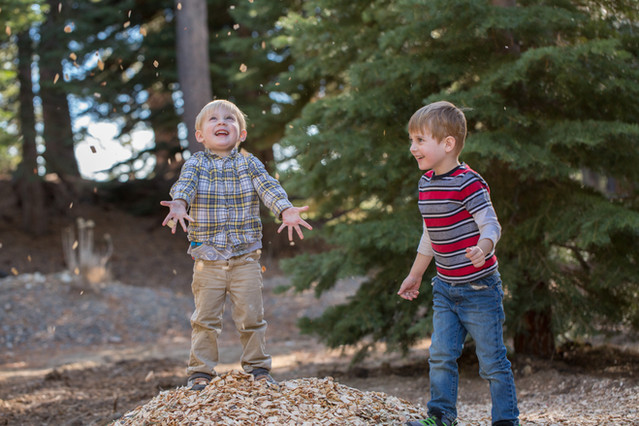 Playful kid photography