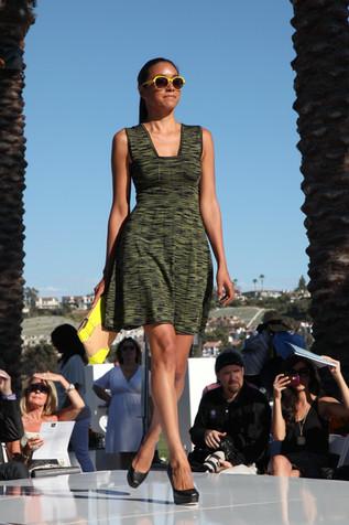 Runway fashion photography