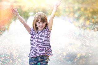 Sparkling, smiling fun at Baron Lake